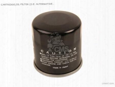 Cartridge,oil Filter ( Non O.e. Japanese Alternative)