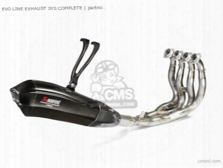 Evo Line Exhaust Sys Complete