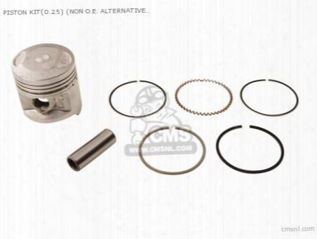 Piston Kit(0.25) (non O.e. Alternative)
