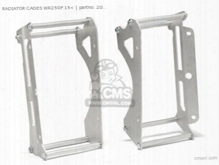 Radiator Cages Wr250f 15