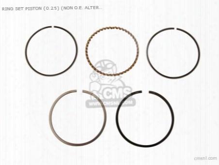 Ring Set Piston (0.25) (non O.e. Alternative)