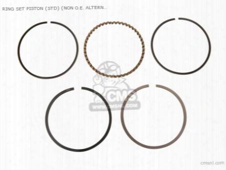 Ring Set Piston (std) (non O.e. Alternative)