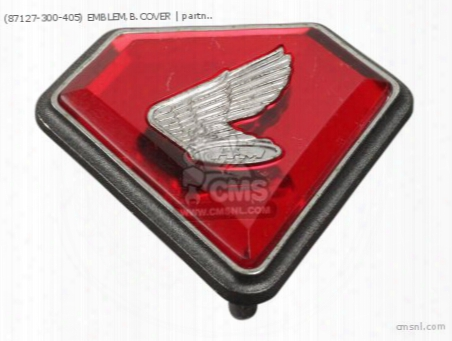 (87127-300-405) Emblem,b.cover