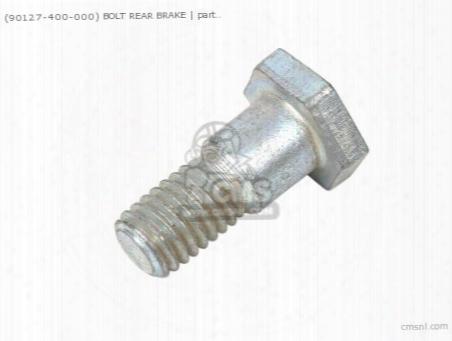 (90127400000) Bolt Rear Brake