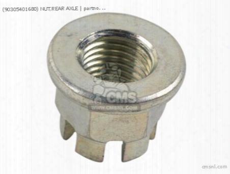 (90305401680) Nut,rear Axle