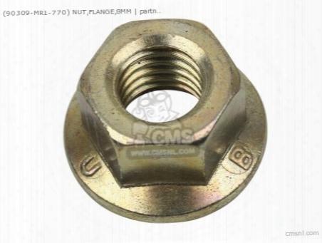(90309mr1770) Nut,flange,8mm