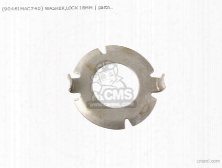 (90461mac740) Washer,lock 18mm