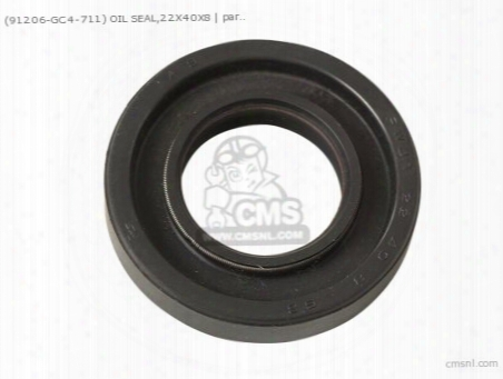 (91206gc4711) Oil Seal,22x40x8