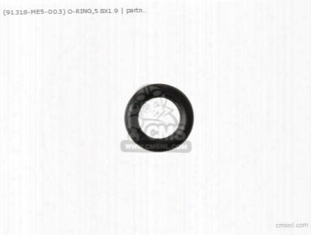 (91305323000) O-ring,5.8x1.9