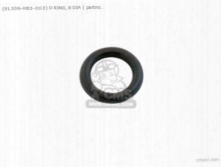 (91306hb3003) O Ring 8 Mm
