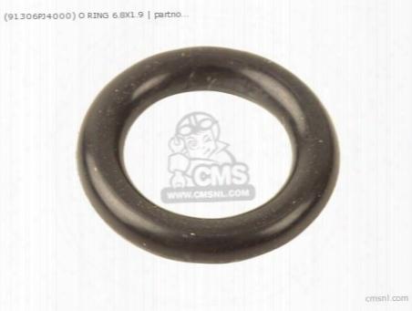 (91306pj4000) O Ring 6.8x1.9