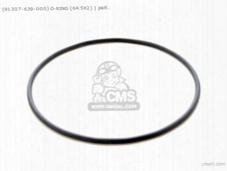 (91307639000) O Ring 64.5x2