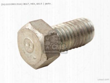 (92101-080160a) Bolt, Hex, 8x15