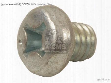 (93500-060060a) Screw 6x5