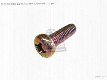 (93500-060200a) Screw 6x20