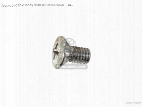 (93700-050100b) Screw 5x10