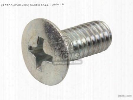 (93700-050120a) Screw 5x12