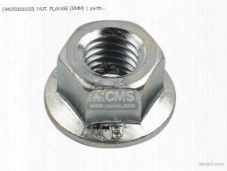 (9405008000) Nut, Flange (8mm)