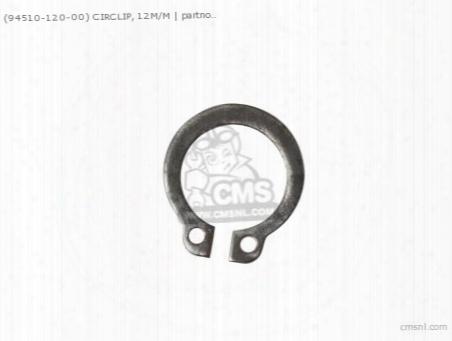 (94510-12000) Circlip 12 Mm