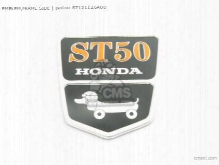 Emblem,frame Side