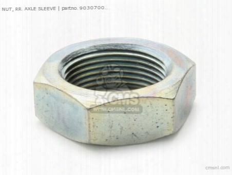 Nut Axle Sleeve