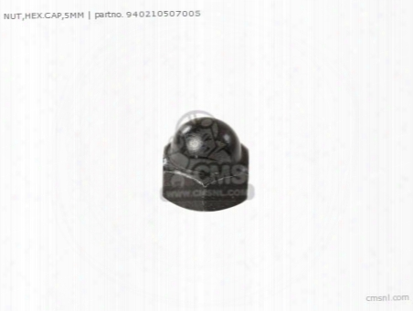 Nut,hex.cap,5mm