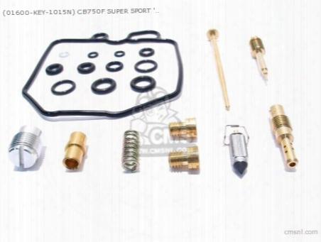 (01600-key-1015n) Cb750f Super Sport '82, 16100-ma5-603, Carb Re