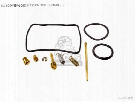 (01600-key-1062n) Cr80r '80 Elsinore, 16100-169-014, Carb Revisi