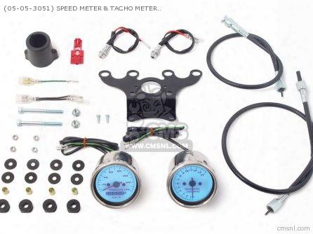 (05-05-3051) Speed Meter & Tacho Meter Kit (led Type )12v Monk