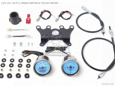 (05-05-3071) Speed Meter & Tacho Meter Kit (led Type) 12v Monk
