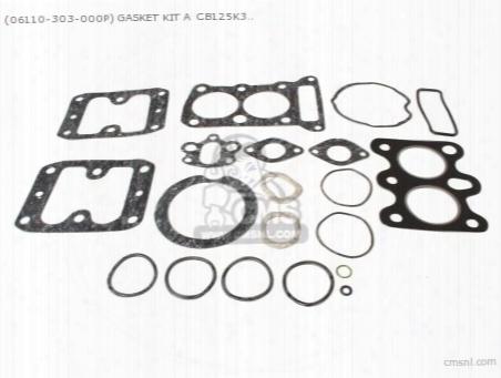 (06110-303-000p) Gasket Kit A Cb125k3 (noburu)