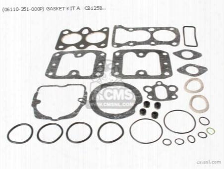 (06110-351-000p) Gasket Kit A Cb125b6 (noburu)