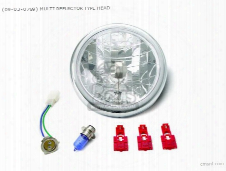 (09-03-0789) Multi Reflector Type Headlight Unit 12v ?ape Ph7 12