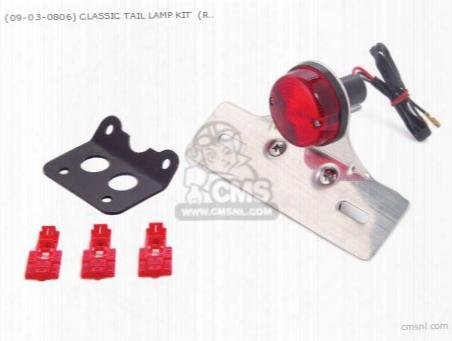 (09-03-0806) Classic Tail Lamp Kit (red ) 12v Monkey ?gorilla