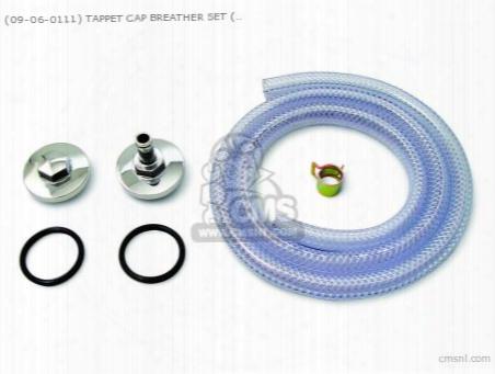 (09-06-0111) Tappet Cap Breather Set (plated) Monkey,monkey-r, D