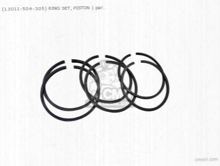 (13011259000) Ring Piston