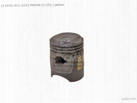 (13102-011-010) Piston (0.25)