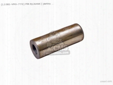 (13382vm0770) Pin B,crank