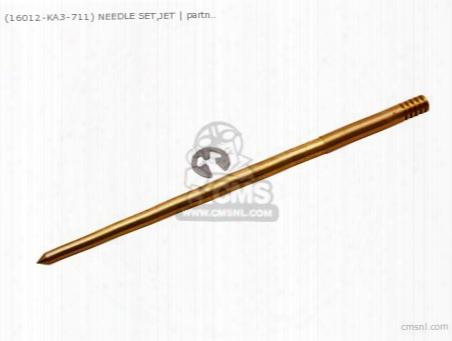 (16012ka3711) Needle Set,jet