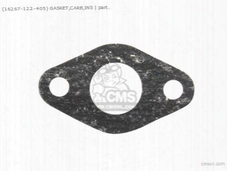 (16267122405) Gasket,carb,ins