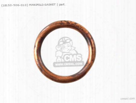 (18150506010) Manifold Gasket
