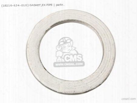 (18216-634-010) Gasket,ex.pipe