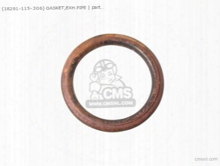 (18291115306) Gasket,exh.pipe