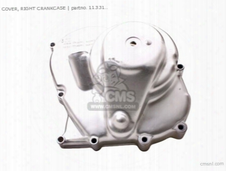 Cover, Right Crankcase