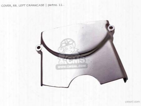 Cover, Rr. Left Crankcase