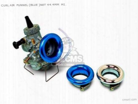 Curl Air Funnel (blue )net 44.4mm Mikuni Vm26/flat 24