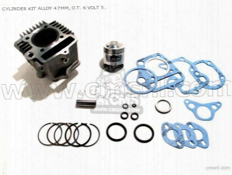 Cylinder Kit Alloy (��47), O.t. 6 Volt 50 Head