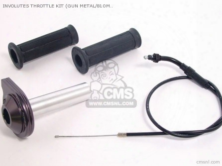 Involutes Throttle Kit (gun Metal/810mm) Pc18/20,pd22,pe24/28,vm