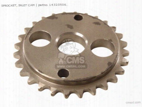 Sprocket, Inlet Cam