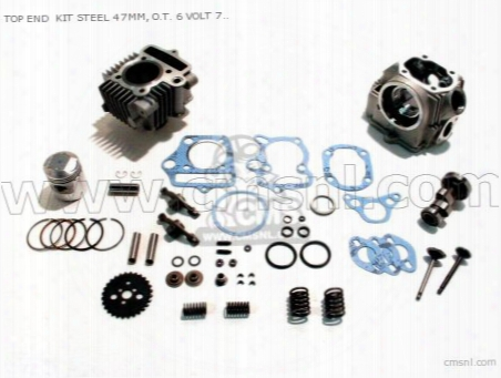 Top End Kit Steel 47mm, O.t. 6 Volt 70 Superhead Head & Race Ca